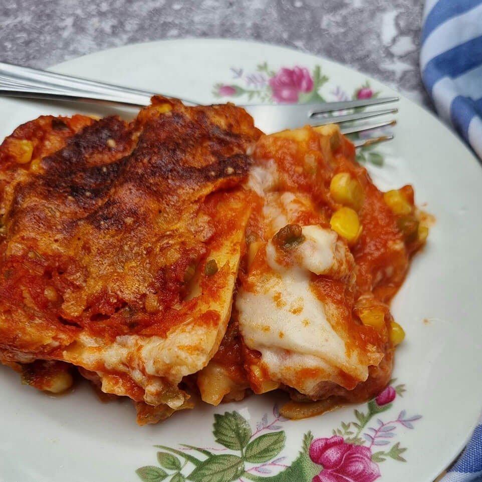 La receta de lasaña de Connie Achurra