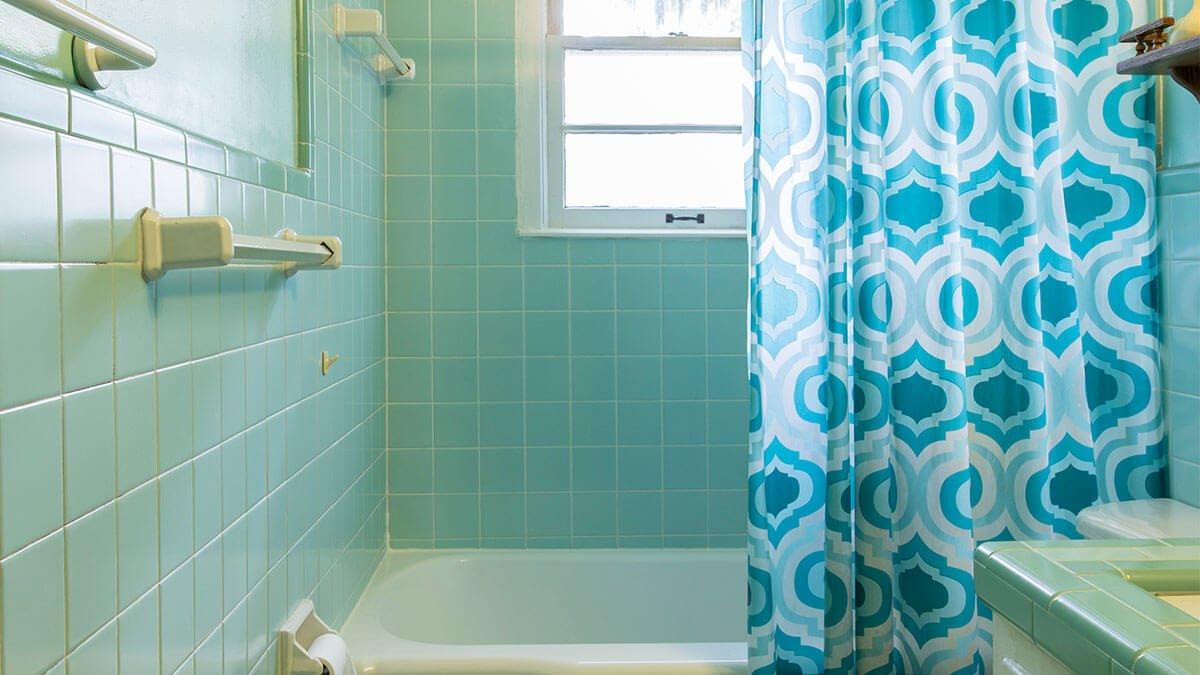 cortina del baño