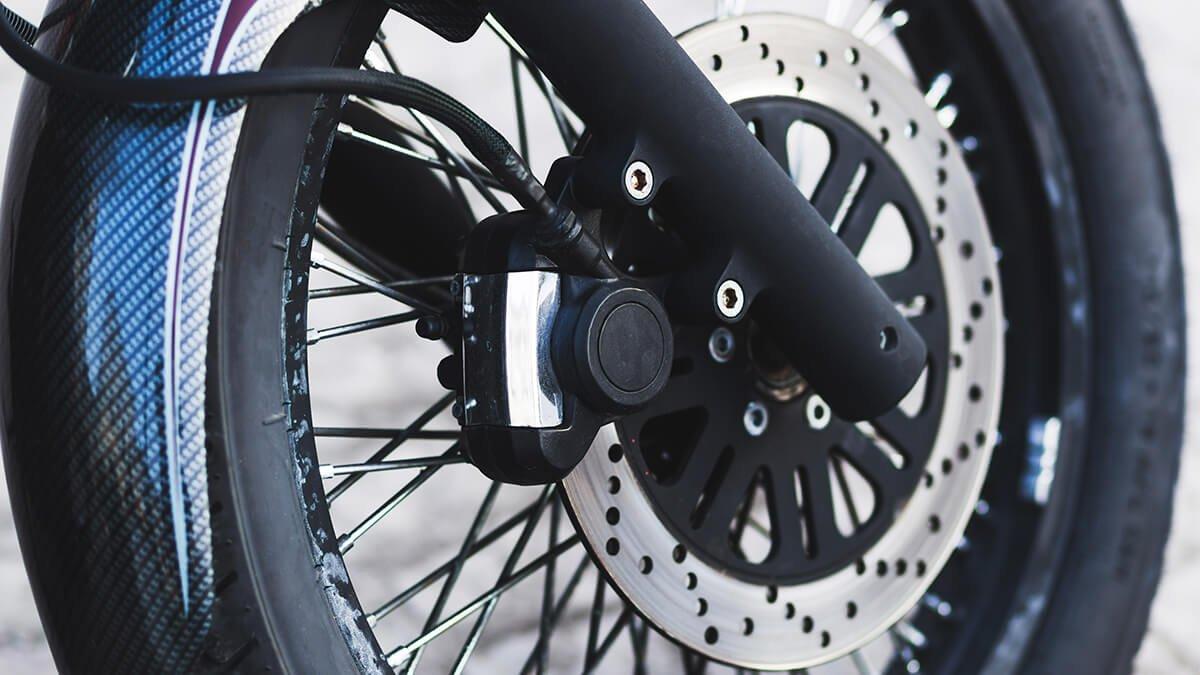 discos de freno de la moto