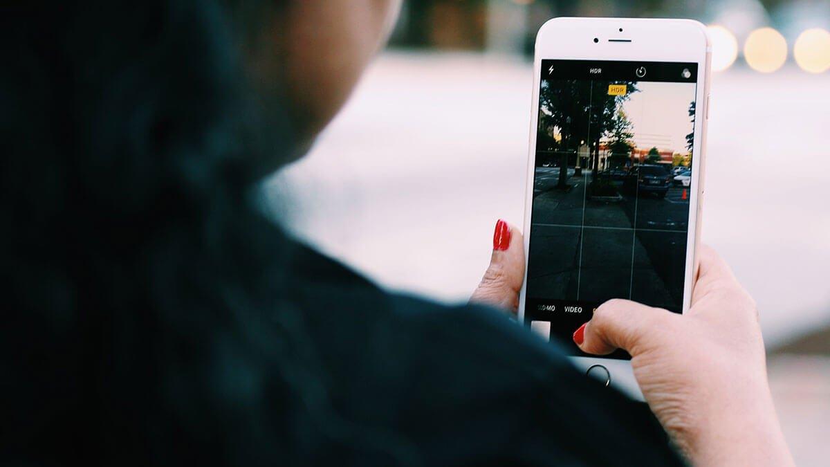 pantalla de móvil